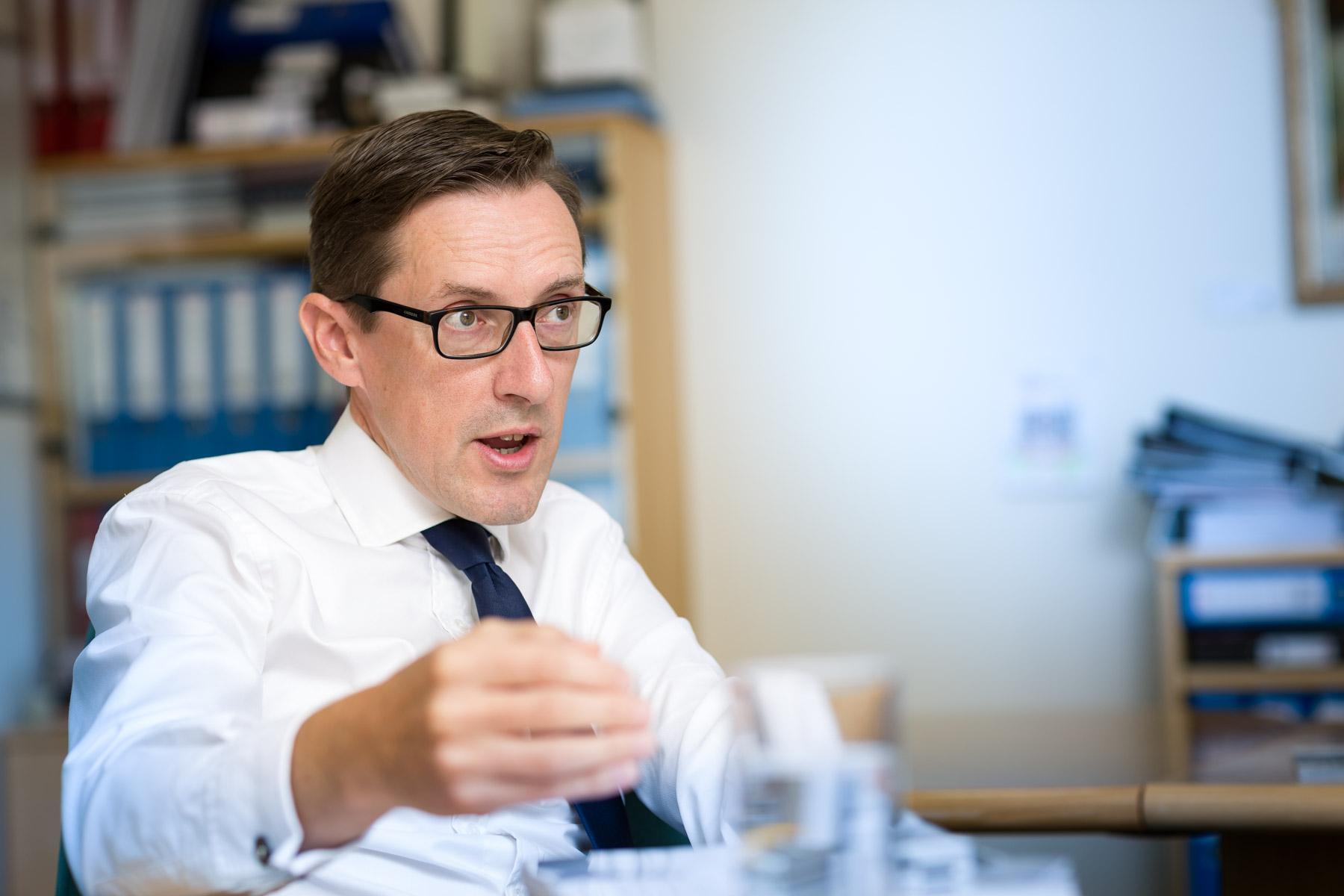 Ian Gorst Jersey Minister