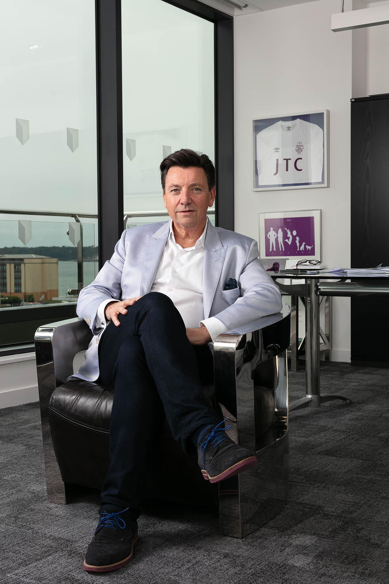 Nigel Le Quesne CEO of JTC