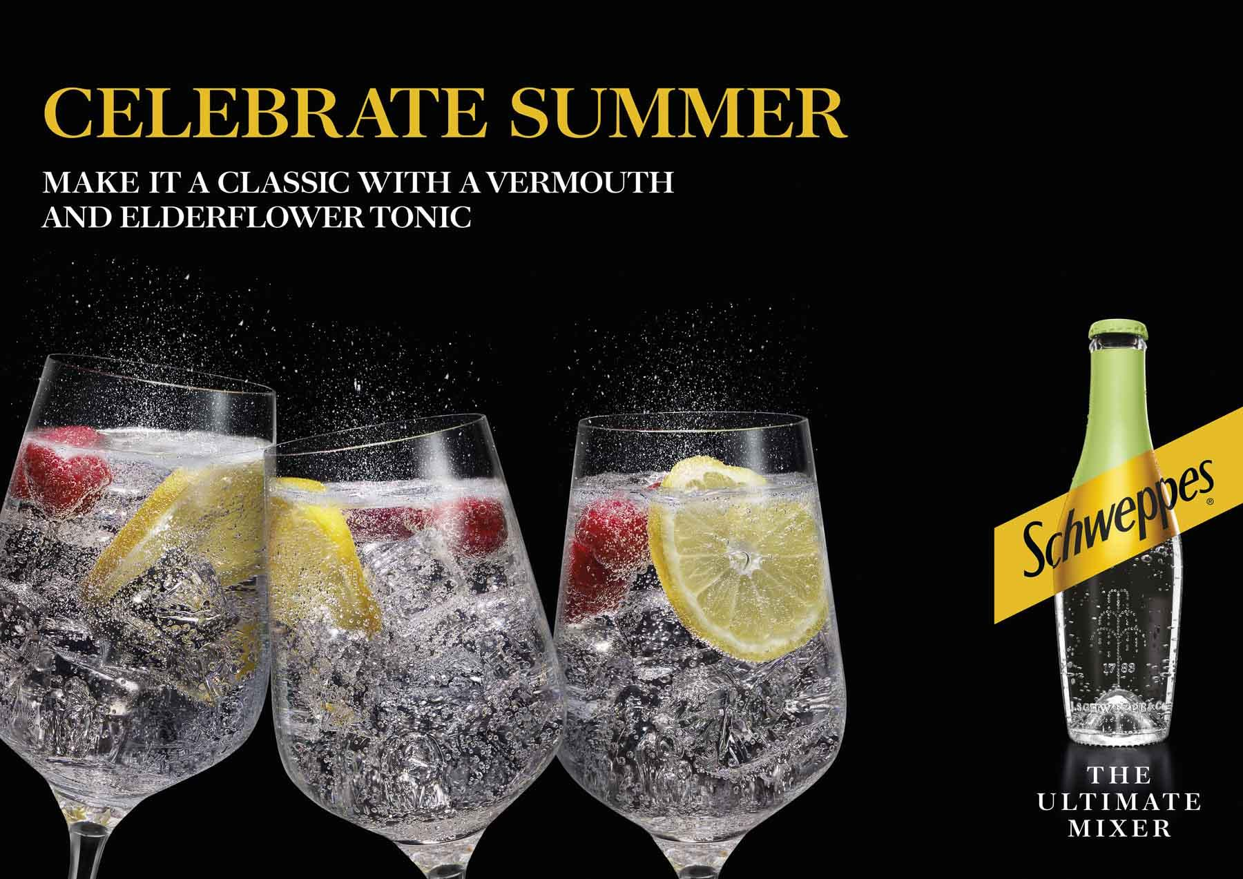 Schweppes Vermouth Elderflower