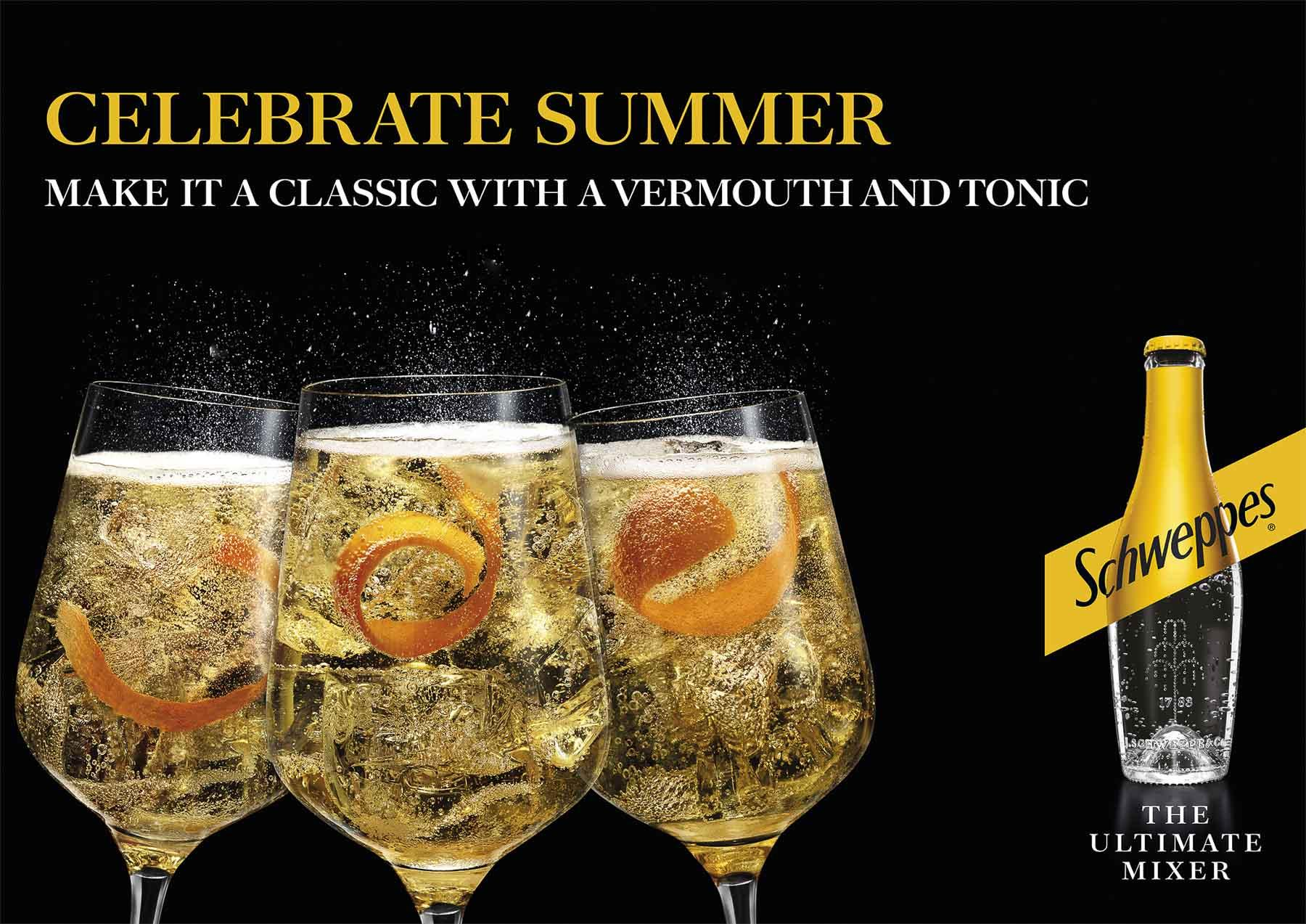 Schweppes Vermouth Tonic